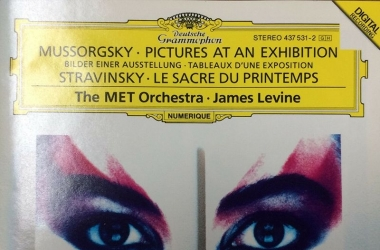 DG名盘:James Levin Mussorgsky_ Pictures At An Exhibition; Stravinsky_ Le Sacre